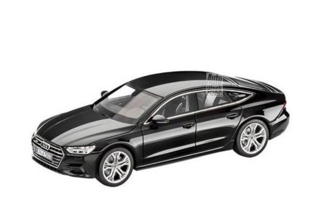 2019 Audi A7 scale model Photo: Auto Week