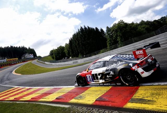 Audi at the 2014 Nürburgring 24 Hours