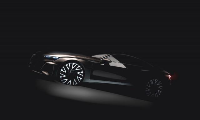 Teaser du prototype Audi e-tron GT