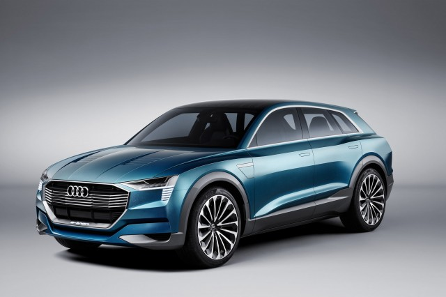 Audi Etron GT Electric Super Sedan To Challenge Tesla Model S - Audi e car