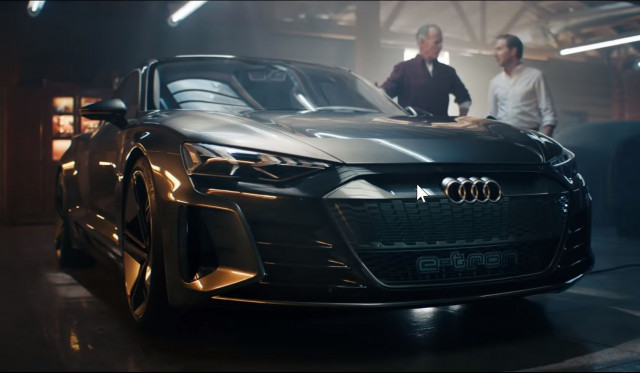 Audi electric-car Cashew ad from 2019 Superbowl