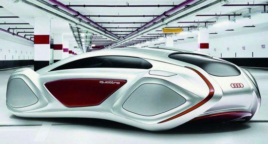 Audi 'Intelligent Emotion' concept