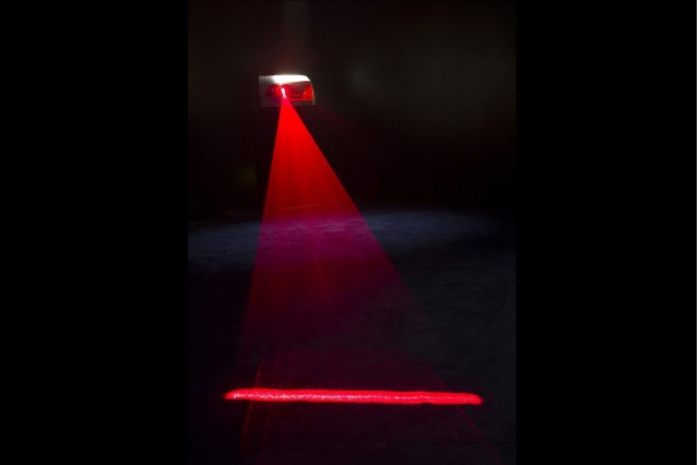 Audi laser light concept
