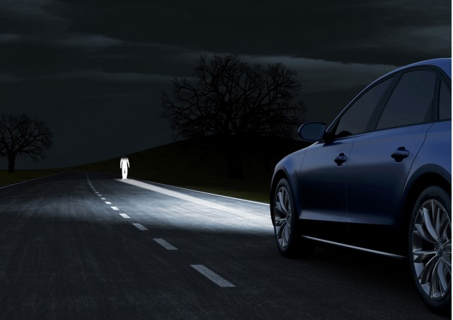 Audi Matrix LED headlight technology