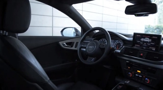 Audi Piloted Driving demo--parking