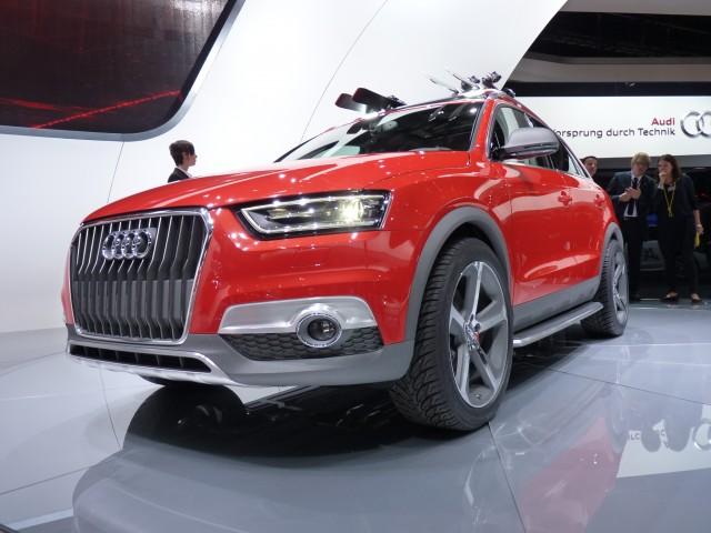 Audi Q3 Vail Concept  -  2012 Detroit Auto Show