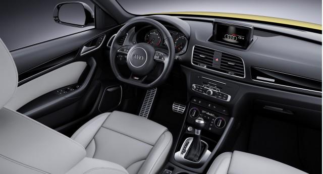 2017 Audi Q3 (European spec)