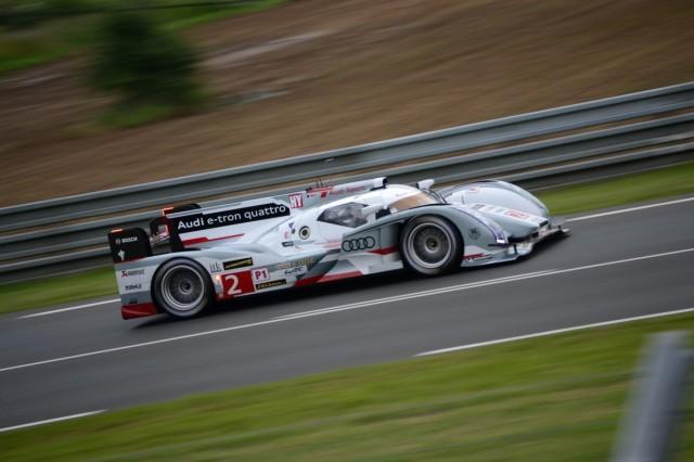Audi R18 E Tron Quattro 24 Hours Of Le Mans 2017