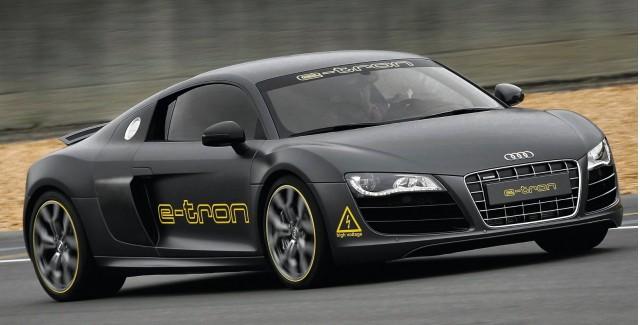 Audi R8 e-tron concept to run 2010 Silvretta EV rally