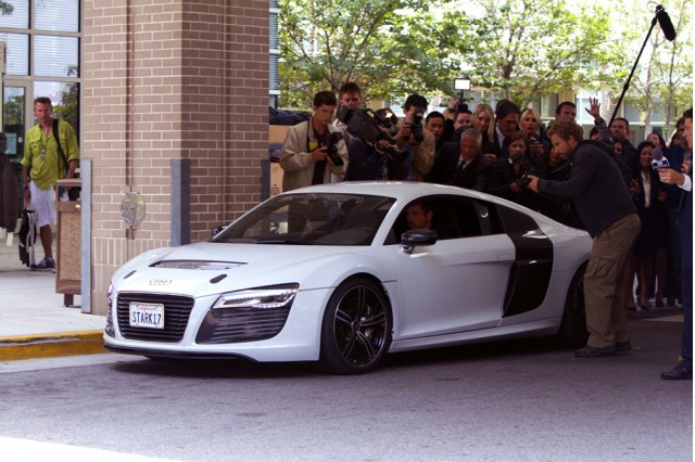 Audi R8 e-tron, featured in Iron Man 3