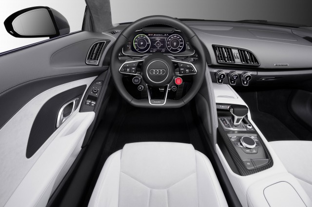 Audi R8 E Tron Piloted Driving Concept 2015 Consumer Electronics Show Asia