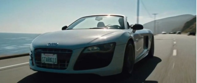 Audi R8 Spyder in Iron Man 2