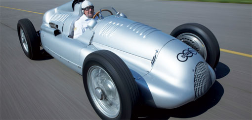 Audi-reconstructed Auto Union Type D to run at Goodwood Festival