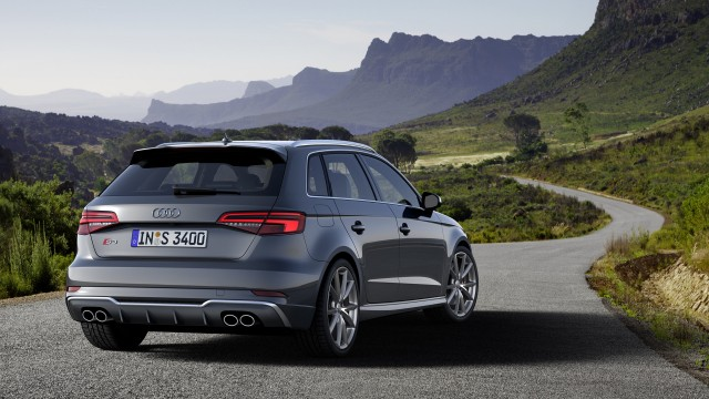 Updated Audi S3 Sportback (European spec)