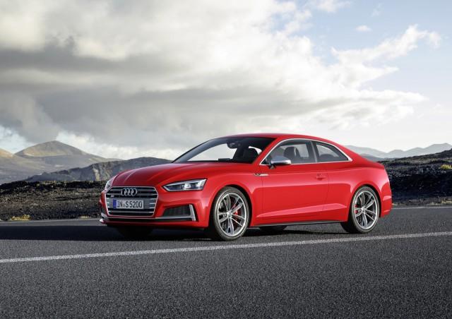 2018 Audi S5 Coupe (Euro-spec)
