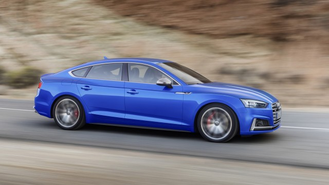 2018 Audi S5 Sportback (European spec)