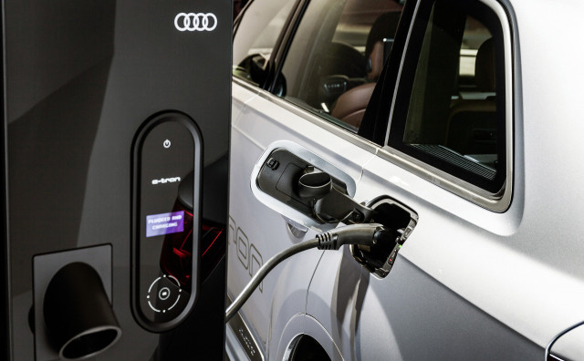 Audi smart energy grid trial