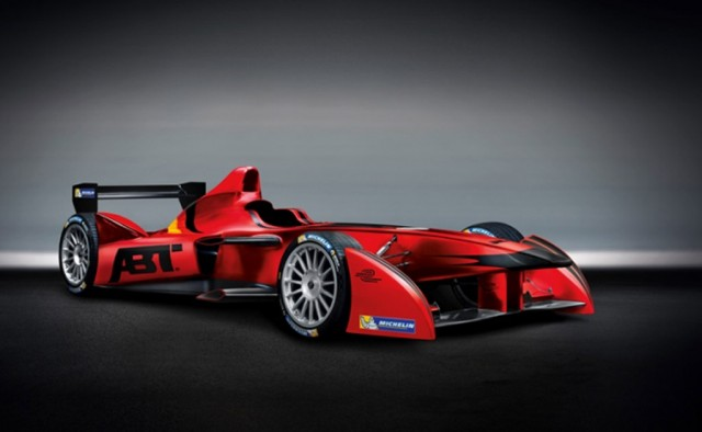 Audi Sport ABT Formula E Team electric race car