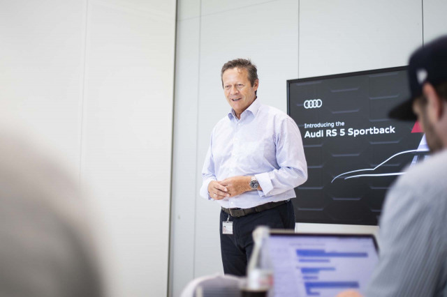 Audi Sport CEO Michael-Julius Renz Q&A