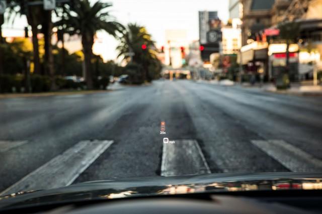 Audi Traffic Light Information System, Las Vegas