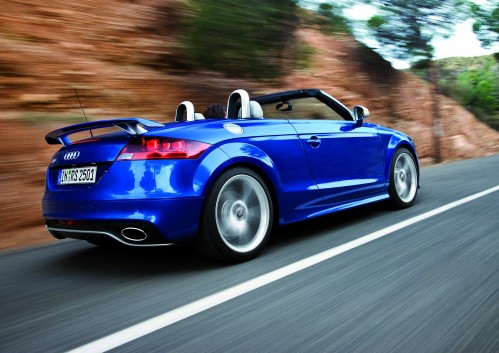 Audi TT RS: New Pics For Fans Of The Five