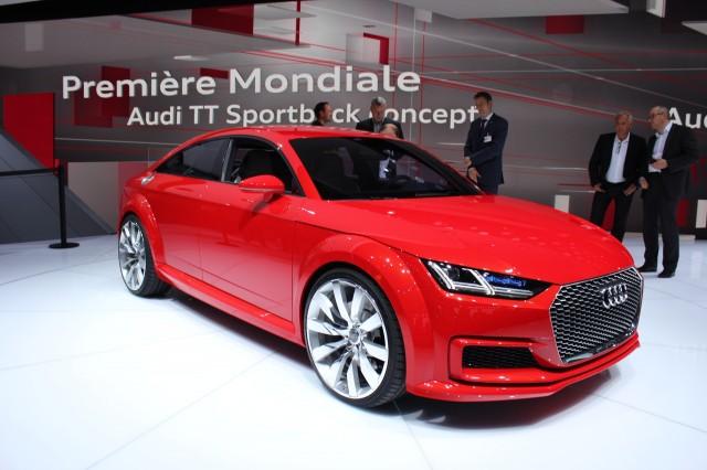 Audi TT Sportback Concept - 2014 Paris Auto Show
