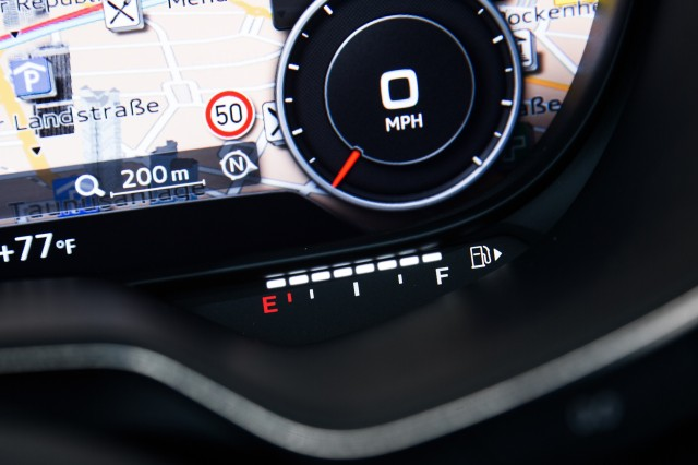 2016 Audi TT: Driving With Its Virtual Cockpit A Vision Of The ... | {Auto cockpit straße 26}