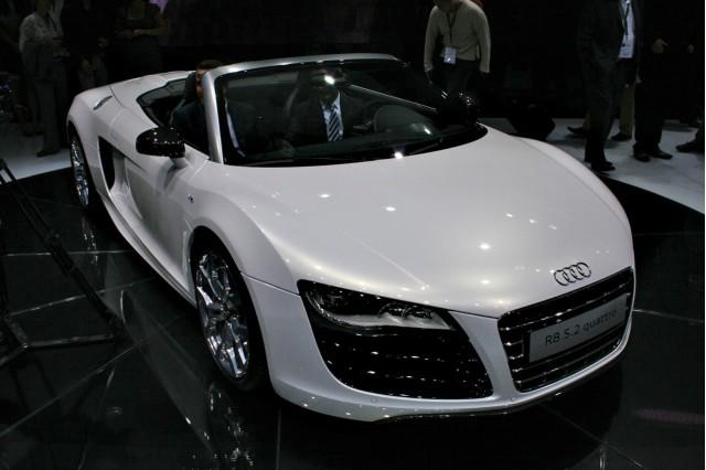 2011 Audi R8 Spyder