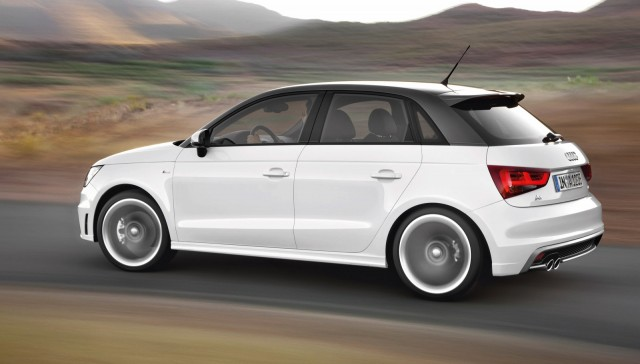 audi a1 cabrio to feature 500c style roll back roof report. Black Bedroom Furniture Sets. Home Design Ideas