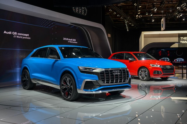 This Weeks Top Photos The Detroit Auto Show Edition - Audi car show