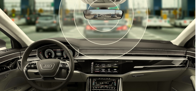 Audi integrated toll-payment technology