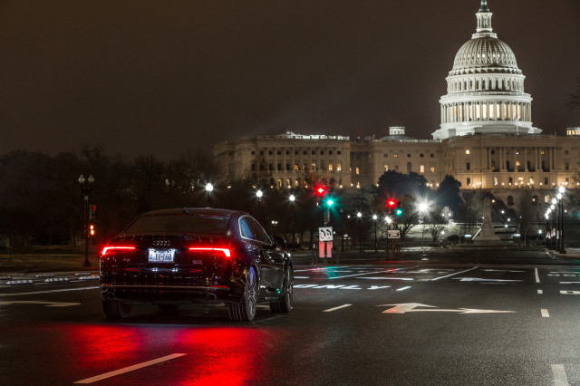 Audi brings its Traffic Light Information tech to Washington, DC