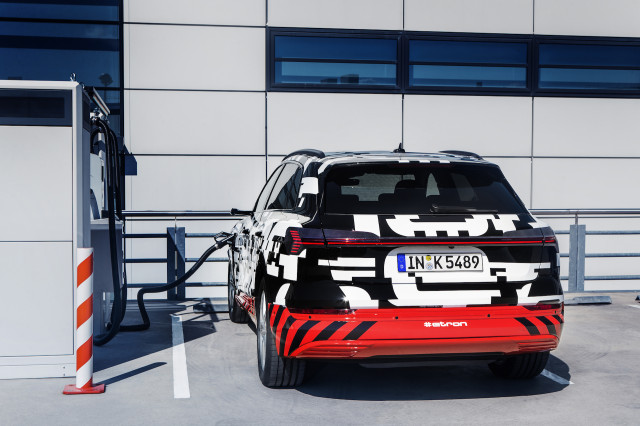 2019 Audi e-tron electric SUV