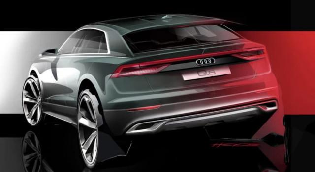 Audi Q8 sketch teaser