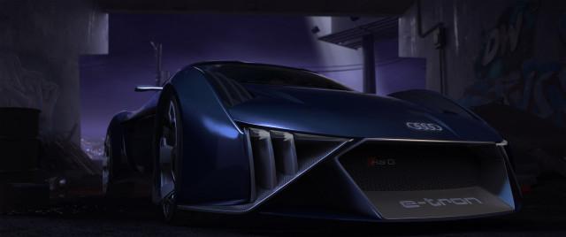 Audi RSQ e-tron concept in