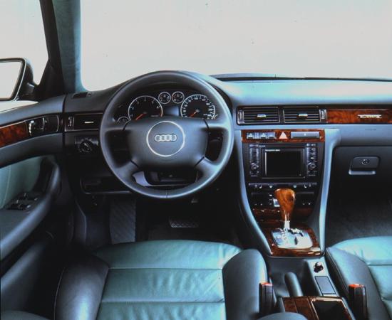 Audi allroad quattro interior