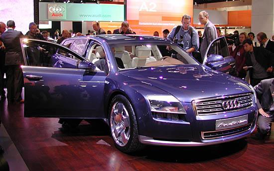 Audi Avantissimo concept Frankfurt 2001