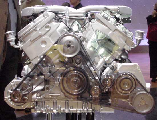 Audi W-12 engine
