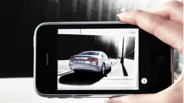 Audi's augmented reality 2010 calendar