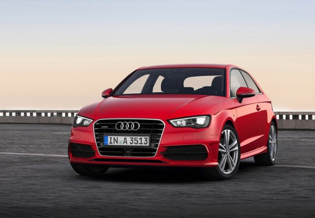 Audi's new A3, debuting at the 2012 Geneva Motor Show