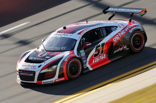 Audi's R8 Grand-Am at Daytona International Speedway