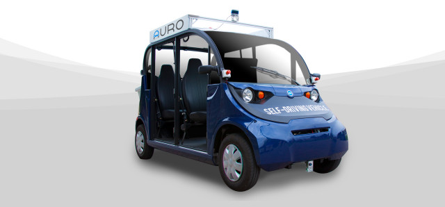 Auro Electric Self Driving Shuttle