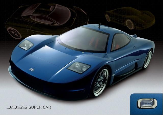 Australia's Joss supercar prototype