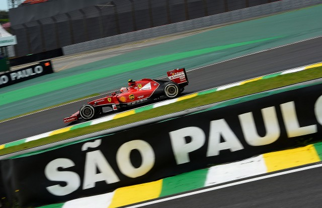 Ferrari at the 2014 Formula One Brazilian Grand Prix