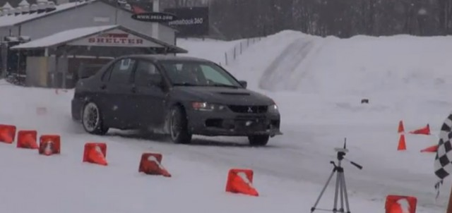 Autocross in the snow is a fun way to spend the winter