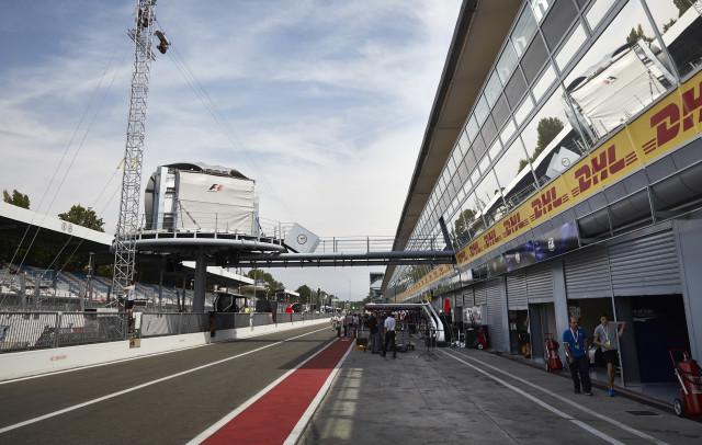 Autodromo Nazionale Monza, home of the Formula 1 Italian Grand Prix