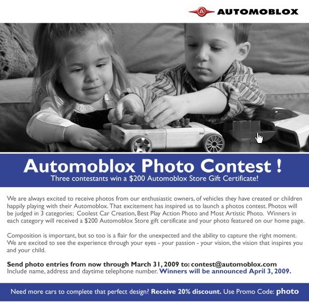 Automoblox contest details