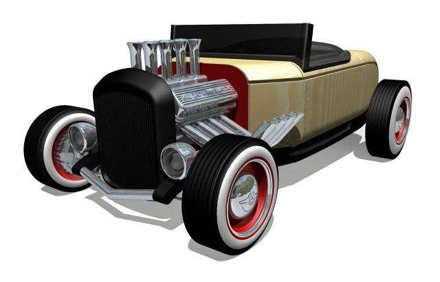 Automoblox HR2 hotrod