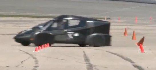 Automotive X PRIZE car testing at MIS