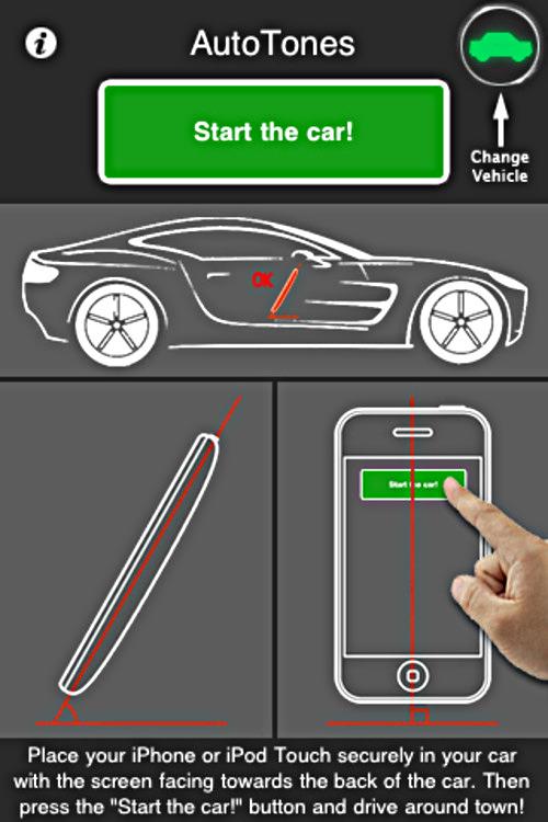 AutoTones app